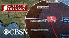 Dorian is bearing down on the Bahamas with life-threatening storm surge. Jeff Meteorologist Jeff Berardelli joins CBSN with the latest forecast. Usa People, Bahamas Island, Storm Surge, Emergency Department, Productive Day, Daytona Beach, Cbs News, Savannah Chat, New Work