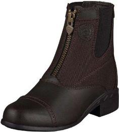 Ariat Paddock Boots kid Childrens English Heritage Dark Brown 10006312 Ariat. $79.95