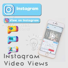 Are you looking to increase your video views onInstagram? You can place an order we will promote yourInstagram video through our 1000+ networks to gain the views.