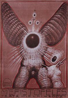 Mefisto, Arrigo Boito, Polish Opera Poster: Polish Posters Shop