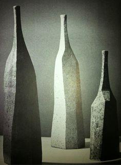 Colin Levy stoneware bottles c.1970