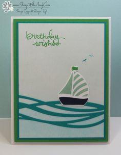 Swirly Bird 1 - Stamp With Amy K