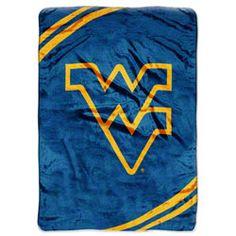 West Virginia Mountaineers 60x80 Force Raschel Throw $42.99 http://www.fansedge.com/West-Virginia-Mountaineers-60x80-Force-Raschel-Throw-_1291779040_PD.html?social=pinterest_pfid50-06279