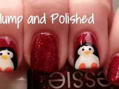 Easy+Christmas+Nail+Art+Designs | Christmas Nails Easy Nail Design » Cute Christmas Nails Easy Nail Art ...