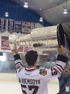 Trevor VanRiemsdyk's day with the cup