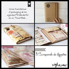 Transformar una caja en un Travel Book