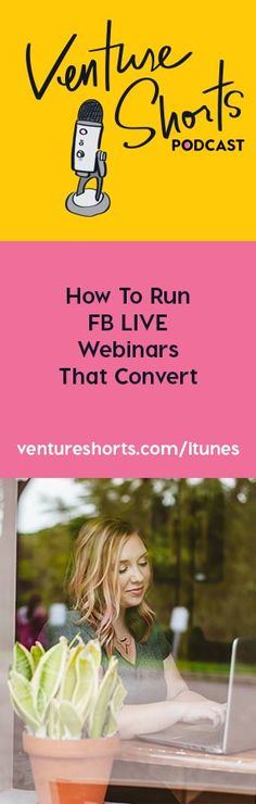 How To Run FB LIVE Webinars That Convert - EPISODE 158 Ohhh you guys I'm SO STOKED for this episode. This was a crazy idea I had and decided to test it out and it just so happened to get me some crazy amazing results with my webinar conversions and I'm SO stoked to share this with you today.