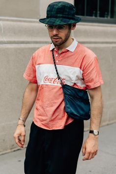 2f4e0db0a547 The best men s street style fits spotted outside the New York Fashion Week   Men s Spring