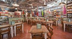 Bill's, St Martin's Courtyard. Restaurant Lighting, Restaurant Tables, Restaurant Design, Whisky Shop, Bar Design Awards, Restaurant Marketing, Cafe Bistro, London Places, Stairs