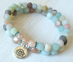 Anti Anxiety, Yoga set, Yoga stack, Yoga bracelets, bracelet set, Reiki Charged…