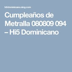 Cumpleaños de Metralla 080809 094 – Hi5 Dominicano