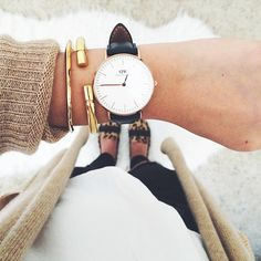 We love the minimalist styling of this Daniel Wellington watch! http://www.robertgoodmanjewelers.com/watches/