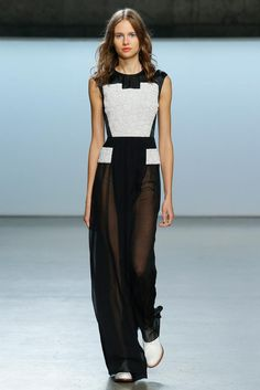 Sally LaPointe Spring 2015 Ready-to-Wear - Collection - Gallery - Look 1 - Style.com