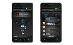 Mobile app UI design for Jibe Arena, a gaming platform