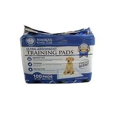 Pet Dog Anti-Odor Training Pads Antibacterial More Absorbent Quick Drying 100Pcs #AmericanKennelClub