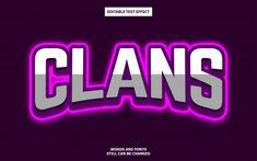 Esports logo editable text style effect . Letras Abcd, Image Font, Esports Logo, 3d Text, Game Logo, Text Style, Text Effects, Font Styles, Logos