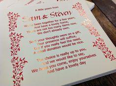 Wedding Gift Poem House Deposit : money poems more money poems envelope additions 404 menu 404 not found
