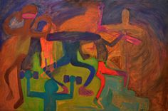 Workout oil painting, 2014 Illustration Art, Fine Art, Workout, Painting, Oil, Work Outs, Painting Art, Paintings, Paint