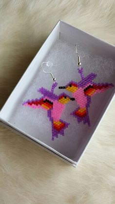 Hummingbirds earring
