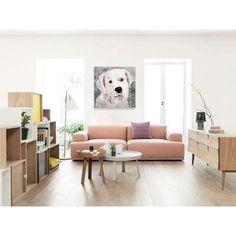 Brayden Studio 'Love My Labrador' Graphic Art on Wrapped Canvas Size: