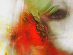 'Looking shy' von Gabi Hampe bei artflakes.com als Poster oder Kunstdruck $20.79