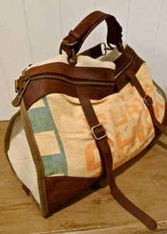 Extra Large Reclaimed Canvas Tote Bag Made from Vintage Japanese Mailbag    bags    baskets   Pinterest   Canvas tote bags c930fac9b7