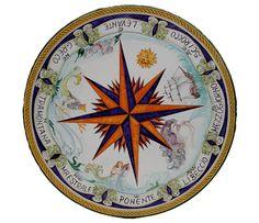 Rise Project, Wind Rose, Nautical Design, Compass Rose, Summer Crafts, Vintage Art, Art Decor, Art Projects, Lava