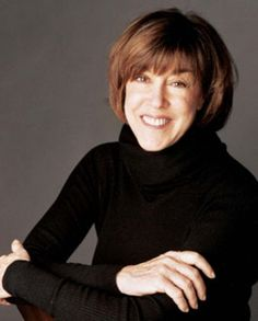 Nora Ephron, author, director.  Your strength was in your candor and millions of us, especially women, who never met you, felt they knew you because your wit and honesty.