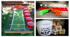 10 Most Incredible Drinking Games - For more delicious recipes and drinks, visit us here: www.tipsybartender.com