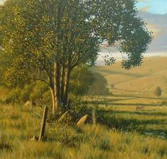Learn how to paint realistic trees.