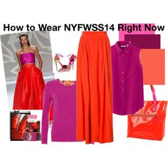 """How to Wear NYFWSS14 Right Now"" by plaidfudge on Polyvore"