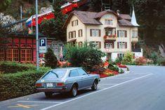 Szwajcaria. Stacja pociągu zębatego Pilatus w Alpnachstad, 1980 Swiss House, Andermatt, Its A Wonderful Life, At The Hotel, Old Town, Switzerland, Cool Photos, Travel, Heidelberg