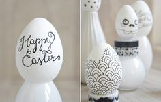 CASAfacile - Uova di Pasqua decorate a colori
