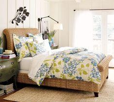 Seagrass Headboard, Queen, Dark Havana | Bed headboards, Bedrooms ...