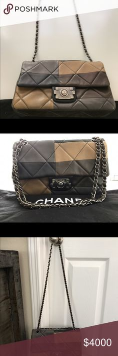 Chanel Purse Chanel multicolored purse. Was featured in vogue. CHANEL Bags Shoulder Bags