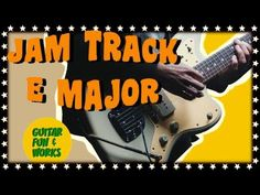 Play Along Alternative Music Backing Track in E E Major, Major Scale, Backing Tracks, Alternative Music, Cool Guitar, Cool Words, It Works, Play, Fun