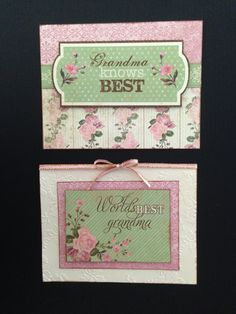 Feminine Cards - Grandma Available for Sale; Cards with Charisma