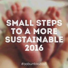 Small Steps to a More Sustainable 2016 | Oobuntoo.com
