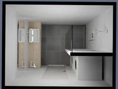 Wasmachine In Badkamer : Kleine badkamer de eerste kamer badkamers barneveld tiny