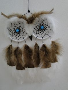 The perfect dream catcher for 'nightmares'. (I meant to catch them by terrifying them away......)