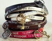 Serenity prayer bracelet. Need