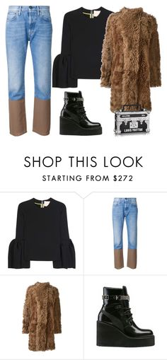 """Untitled #693"" by mary-zacharia ❤ liked on Polyvore featuring Roksanda, Ports 1961, Philosophy di Lorenzo Serafini and Puma"