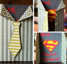 A Super Hero Card | DIY Ideas For Father's Day Cards