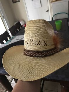 c74070ba135 Vintage Resistol Straw Cowboy Hat  fashion  clothing  shoes  accessories   mensaccessories  hats (ebay link)