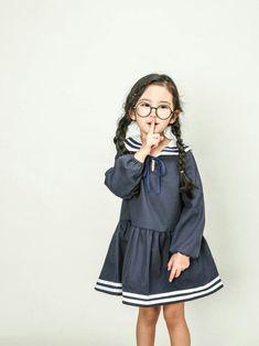 재미있는 아동복 편집샵 : KID403 세일러원피스 Boy Outfits, Casual Outfits, Latest Fashion Dresses, Little Boy And Girl, Kids Swimwear, Kid Styles, Child Models, Girl Model, Kids Wear
