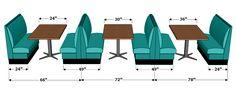 Restaurant booth seating design chairs Ideas for 2019 Bar Interior Design, Restaurant Interior Design, Cafe Design, Restaurant Booth Seating, Cafe Seating, Cafeteria Retro, Coffee Shop Design, Planer, Decoration
