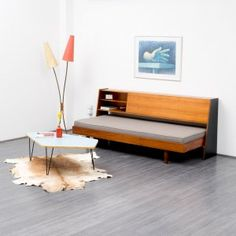 1960s daybed with storage - www.velvet-point.com