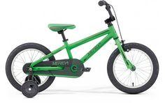 """Grupa         Junior 16""""               Rama         Aluminiowa M16-alloy-C               Skok P/T         -/- mm               Widelec         Stalowy               Napęd         1 biegowy               Hamulce         Szczękowe/ torpedo               Rozmiar kół         16""""               Rowery z kolekcji KIDS przeznaczone są dla dzieci w grupach wiekowych od 3 - 4 lat ( rowerek o 12"""" kołach i 7"""" ramie), poprzez rowerki dla 4 - 7 latków (roz..."""