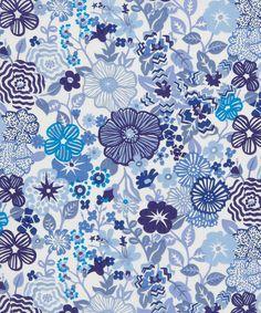 Beths Flowers D Tana Lawn, Liberty Art Fabrics. Shop more from the Liberty Art Fabrics online at Liberty.co.uk