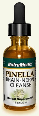 Primary Use of PINELLA / BRAIN & NERVE CLEANSE:    ELIMINATES TOXINS FROM BRAIN & CENTRAL NERVOUS SYSTEM  REDUCES BRAIN FOG